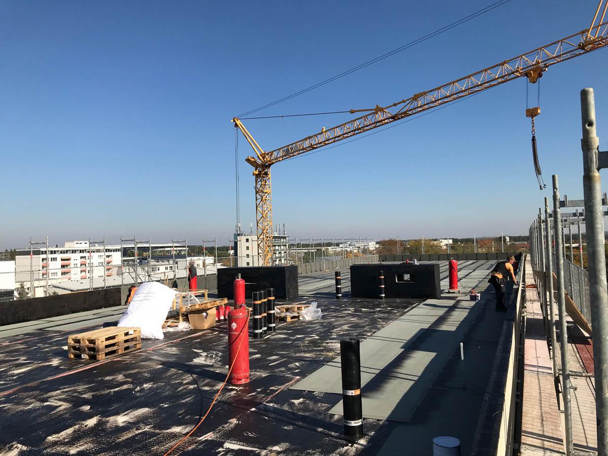 2018 Kontorhaus Wolfsburg, Neubau mit Flachdach