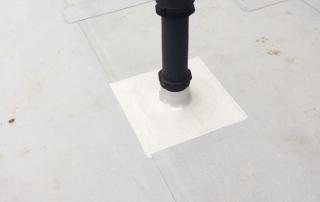 Abdichtung Schornsteine Flachdach