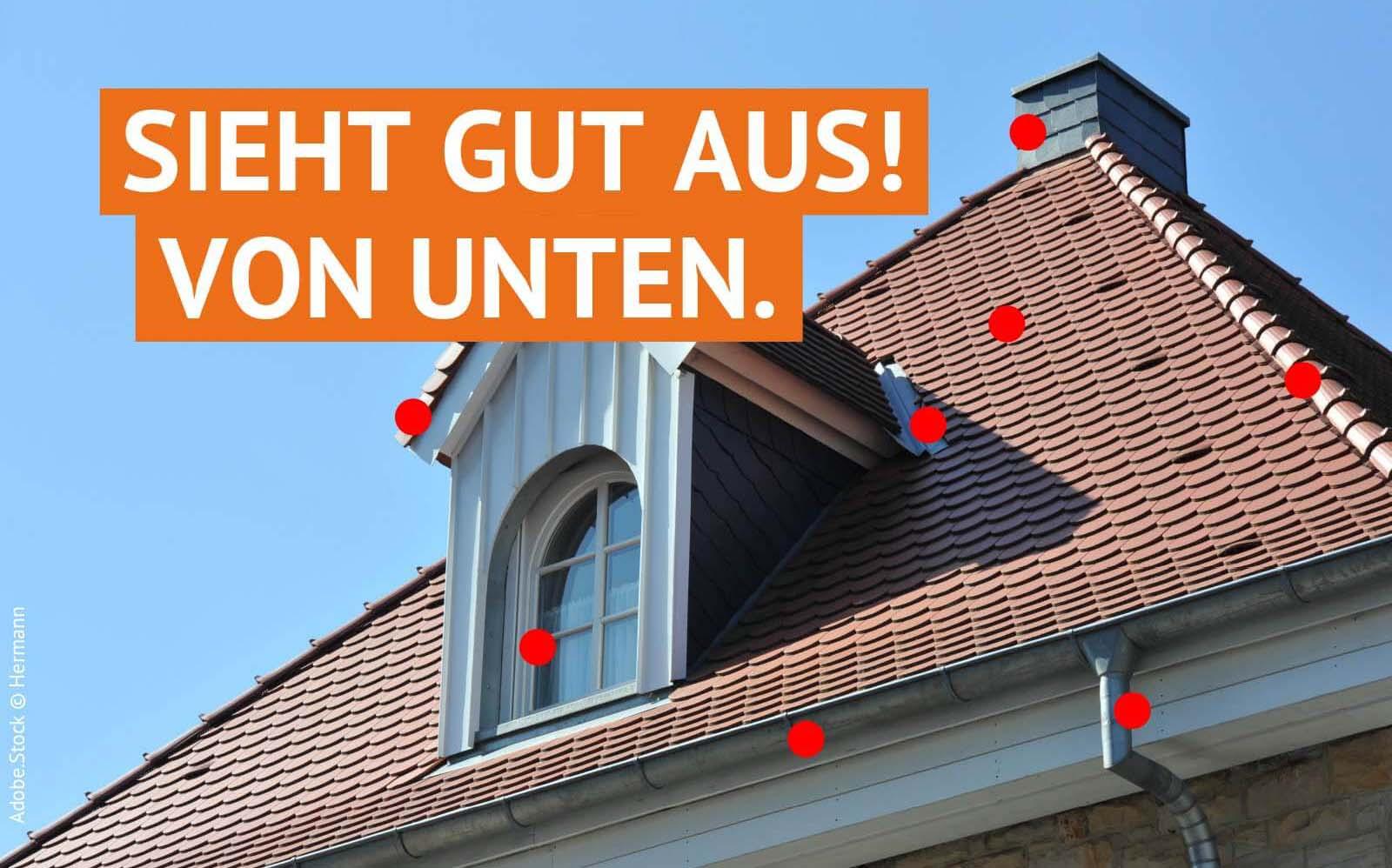 Angebot Dachinspektion/Dachwartung.
