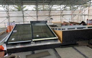 Dachausstiegsfenster für eine Dachterrasse