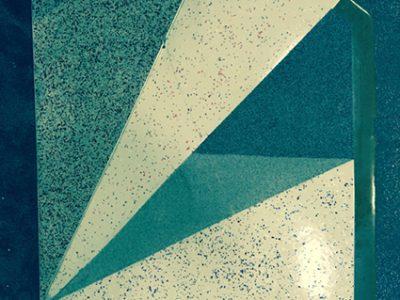 Balkonabdichtung mit Flüssigkunststoff und Chipseinstreuung