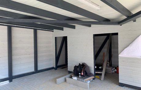 Carport aus Holz bauen
