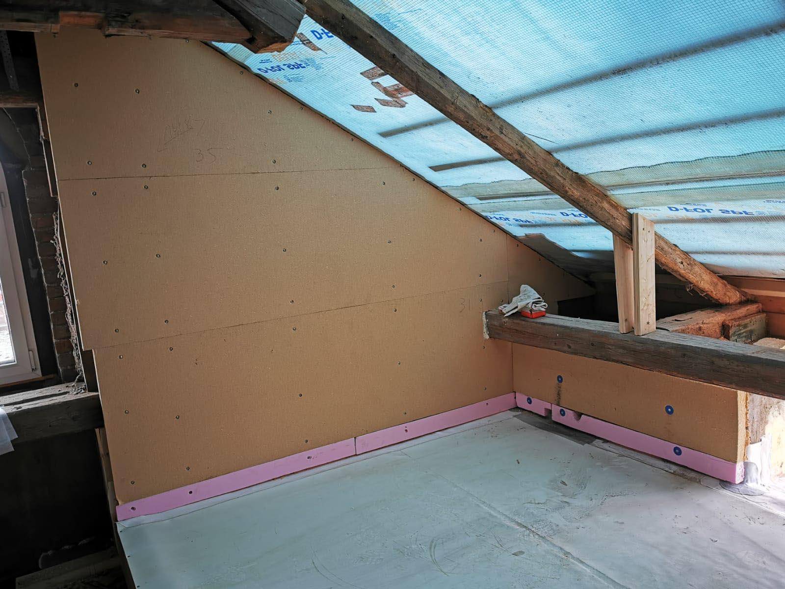 Ausbau Dachgeschoss mit Loggia
