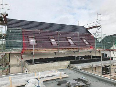 Dacheindeckung eines Einfamilienhauses in Watenbüttel.