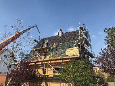 Dachfenstereinbau und Dämmung des Daches in Braunschweig.