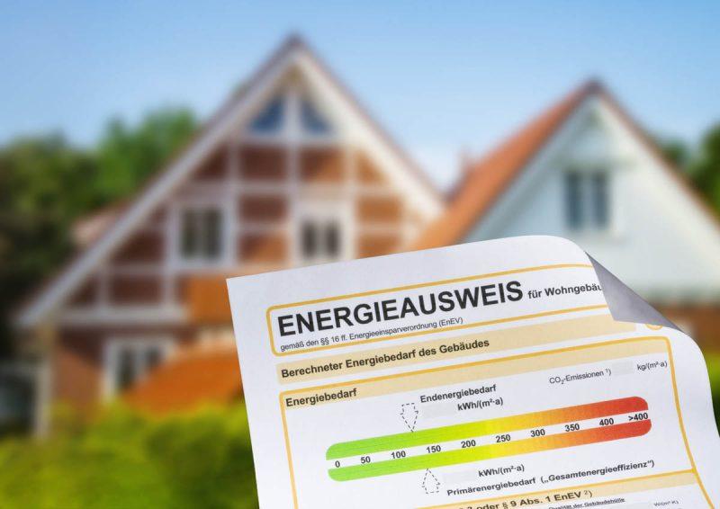 Energieausweis nach Dämmung und energetischer Sanierung