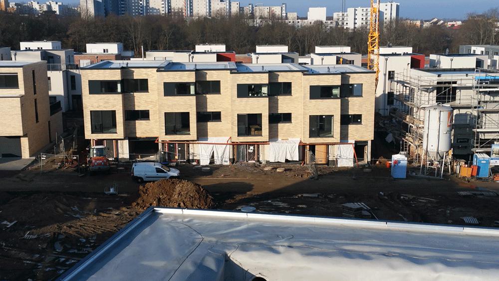 Flachdach Modern Und Sicher Dachdeckerei Marske