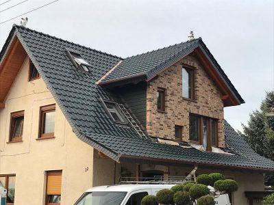 Fassadenverkleidung mit Cedral Paneele