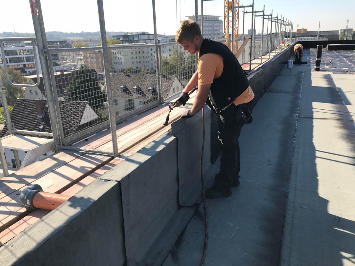 Kontorhaus Wolfsburg - Projekt der Dachdeckerei Marske