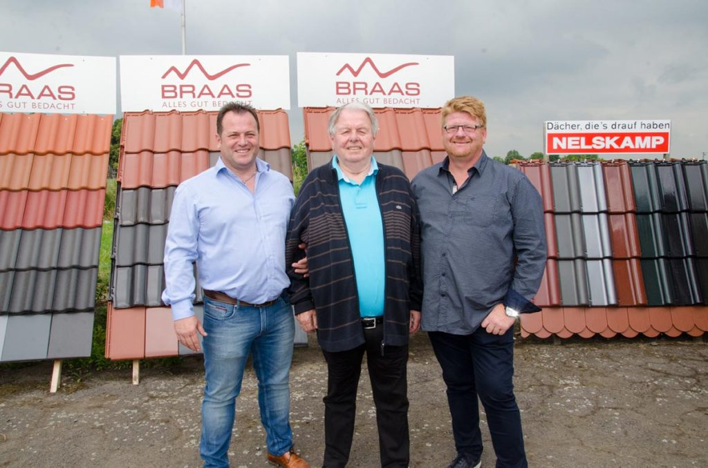 Dirk Marske, Erich Marske und Peter Marske.