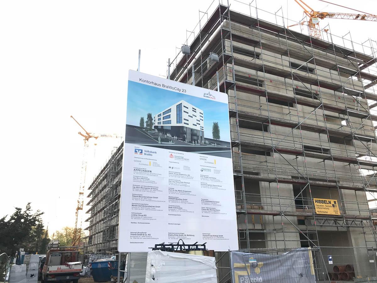 Neubau Kontorhaus BraWo City 2018