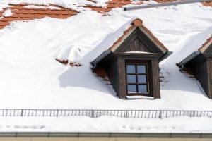 Schneefanggitter fürs Dach