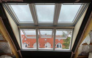 Einbau eines VELUX-Panorama Dachfenster