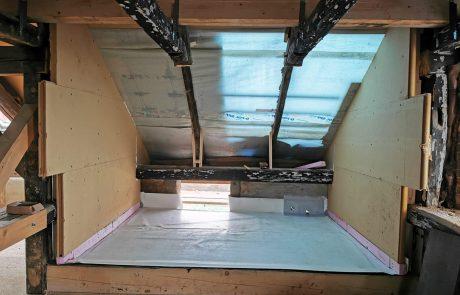 Nachträglicher Einbau einer Loggia von Dachdeckerei Marske
